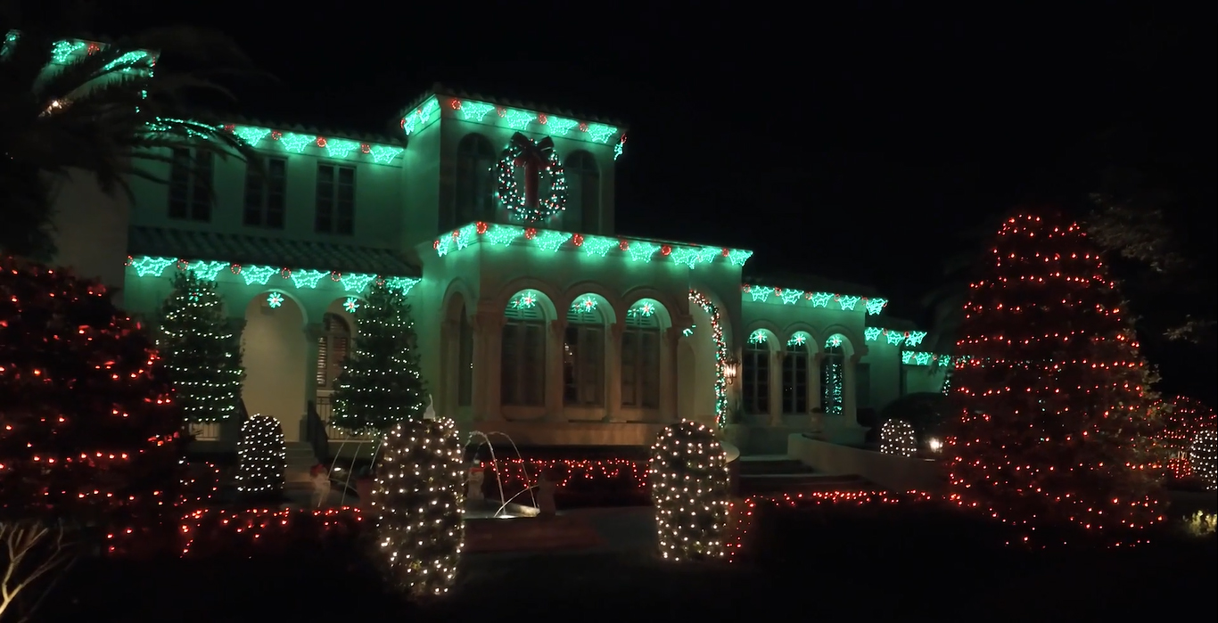 Outdoor Holiday Lighting | Orlando Christmas Lights ...